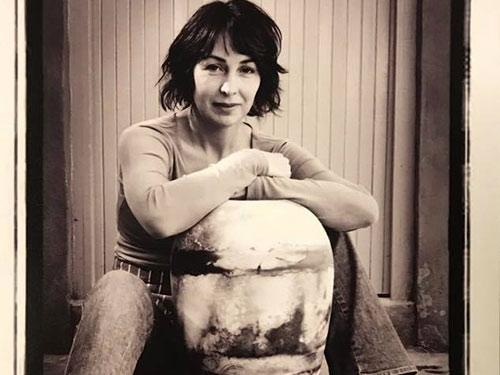 Trayci Tompkins with pot