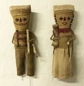 Burial dolls that inspired Trayci Tompkins