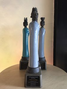 Dlamini awards, Trophy, bespoke trophy, company award, South African Oscar, The Dlamini figurine, South African corporate gift, special award